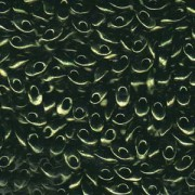 Miyuki Long Magatama Perlen 4x7mm ca8,5gr 0459 metallic Olive