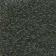 Miyuki Delica Perlen 1,6mm DB0273 lined rainbow Topaz Olive 5gr