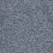 Miyuki Delica Perlen 1,6mm DB0381 matt transparent shadow Grey 5gr