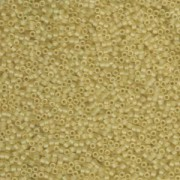 Miyuki Delica Perlen 1,6mm DB0382 matt transparent pale Topaz 5gr