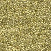 Miyuki Delica Perlen 1,6mm DB0412 dyed galvanized Yellow 5gr