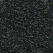 Miyuki Delica Perlen 1,6mm DB0606 transparent silverlined Dark Moss 5gr