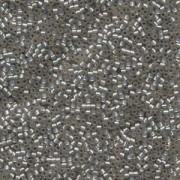 Miyuki Delica Perlen 1,6mm DB0630 silverlined Alabaster light Taupe 5gr