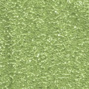 Miyuki Delica Perlen 1,6mm DB1227 transparent luster Olive ca 5gr