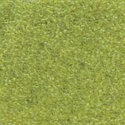 Miyuki Delica Perlen 1,6mm DB1106 transparent Lime 5gr