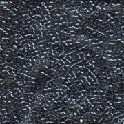Miyuki Delica Perlen 1,6mm DB0453 galvanized dark Gunmetall 5gr