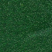 Miyuki Delica Perlen 1,6mm DB0705 transparent Kelly Green 5gr