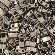 Miyuki Halb Tila Perlen 2,2x5mm Plated Nickel HTL0190 ca 7,8gr