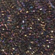 Miyuki Hexagon Perlen 11C-0188 2mm rainbow metallic Purple Gold ca10gr