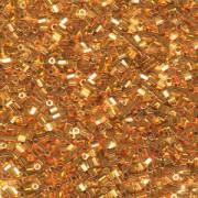 Miyuki Hexagon Perlen 11C-0191 2mm 24 Karat Gold Plated ca10gr
