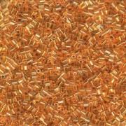 Miyuki Hexagon Perlen 11C-0195 2mm 24 Karat Goldlined Crystal ca10gr
