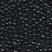 Miyuki Magatama Perlen 4mm 0401 Black ca 24gr
