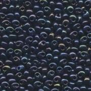 Miyuki Magatama Perlen 4mm 0452 metallic Dark Blue irisierend ca 24gr
