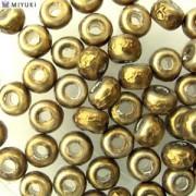 Miyuki Rocailles Baroque Perlen 4mm 3955 Antique Brass ca 6,8gr