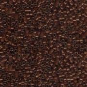 Miyuki Delica Perlen 1,6mm DB1391 colorlined sparkly Peridot Bronze ca 5gr