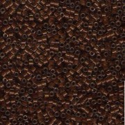 Miyuki Delica Perlen 1,6mm DB1393 colorlined sparkly Golden Brown Chocolate ca 5gr