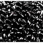 Miyuki Tropfen Perlen 3x5,5mm 0401 Black ca 25gr