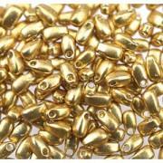 Miyuki Tropfen Perlen 3x5,5mm 4202 Duracoat galvanized Gold ca 25gr