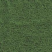 Miyuki Rocailles Perlen 1,5mm 1488 dyed opaque Forest ca 11gr