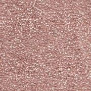 Miyuki Rocailles Perlen 1,5mm 1524 sparkle rosalined Crystal ca 11gr