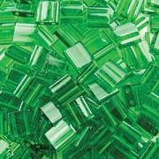 Miyuki Tila Perlen 5mm transparent Green TL0146 ca 7,2gr