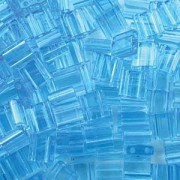 Miyuki Tila Perlen 5mm transparent light Blue TL0148 ca 7,2gr