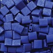 Miyuki Tila Perlen 5mm matt Cobalt TL2075 ca 7,2gr