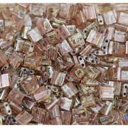 Miyuki Tila Picasso Perlen 5mm transparent smoked light Topaz TL4505 ca 7,2gr