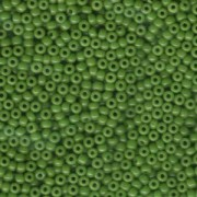 Miyuki Rocailles Perlen 3mm 0411 opaque jadegreen ca 13gr