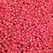 Miyuki Rocailles Perlen 3mm 4239 Duracoat silverlined Hot Pink ca 22gr