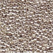 Miyuki Rocailles Perlen 4mm 181 galvanized Silver 20gr