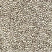 Miyuki Rocailles Perlen 2,2mm 0181 oder 9660-064 galvanized Silver ca 10gr