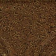 Miyuki Rocailles Perlen 2,2mm 0134F oder 9660-904 transparent matt light Brown ca 10gr