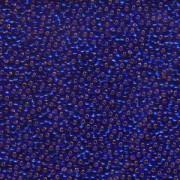 Miyuki Rocailles Perlen 2,2mm 0020 oder 9660-484 silverlined Cobalt ca 10gr