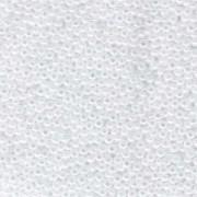 Miyuki Rocailles Perlen 2,2mm 0528 oder 9660-014 ceylon White ca 10gr