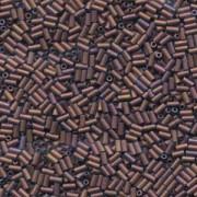 Miyuki Stäbchen Perlen Bugle Beads 3mm 2005 matt metallic Copper ca 10gr