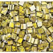 Miyuki Tila Picasso Perlen 5mm Peridot Moss TL4519 ca 7,2gr