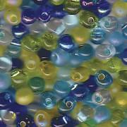 Miyuki Tropfen Perlen 3,4mm Mix06 Lagoon ca 25gr.