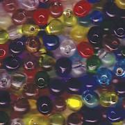 Miyuki Tropfen Perlen 3,4mm Mix17 Rainbow AB ca 25gr.