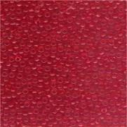 Miyuki Rocailles Perlen 2mm 0140 transparent Medium Red 12gr
