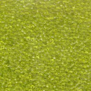 Miyuki Rocailles Perlen 2mm 0143 transparent Lime Green 12gr