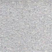 Miyuki Rocailles Perlen 2mm 0250 transparent rainbow Clear 12gr