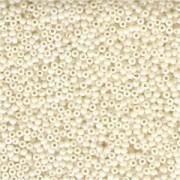Miyuki Rocailles Perlen 2mm 0421 opaque luster Eggshell 12gr
