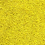 Miyuki Rocailles Perlen 1,5mm 0422 opaque luster Yellow ca 11gr