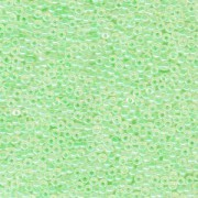 Miyuki Rocailles Perlen 2mm 0520 ceylon Mint Green 12gr