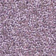 Miyuki Rocailles Perlen 1,5mm 0012 transparent silverlined Light Amethyst ca 11gr