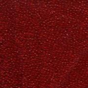 Miyuki Rocailles Perlen 1,5mm 0141 transparent Red ca 11gr