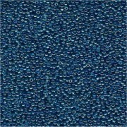 Miyuki Rocailles Perlen 1,5mm 0291 transparent rainbow Turquoise-Violet ca 11gr