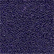 Miyuki Rocailles Perlen 1,5mm 0434 opaque luster Purplish Blue ca 11gr