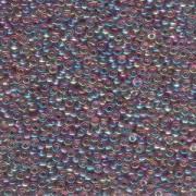 Miyuki Rocailles Perlen 3mm 0256 transparent rainbow Light Amethyst ca 13gr
